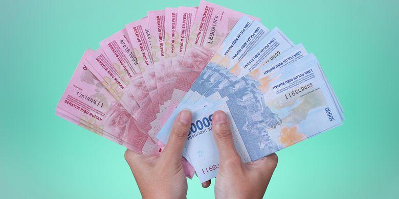 Ilustrasi rupiah