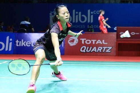 Indonesia Open 2019, Fitriani Akui Kurang Fokus sehingga Kalah Telak