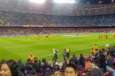 Menonton Barcelona Vs Sporting Gijon di Tribune VIP Camp Nou