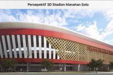 Sistem Pencahayaan Stadion Manahan Lebih Canggih Dibanding Luzhniki