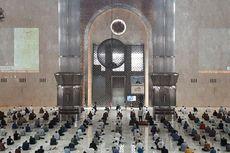 Dihadiri Wapres Ma'ruf Amin, Begini Suasana Shalat Jumat di Masjid Istiqlal