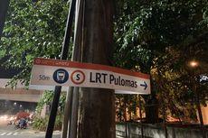 Informasi Minim, Komunitas Buat Penunjuk Arah untuk Penumpang LRT