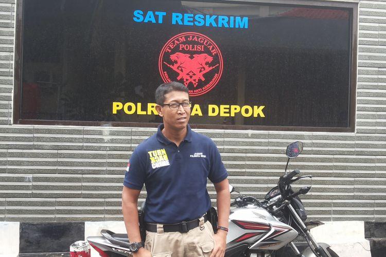 Kepala Tim Jaguar Inspektur Satu Winam Agus saat ditemui di Mapolresta Depok, Senin (29/5/2017).