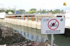 Kurangi Risiko Banjir Jakarta, Stasiun Pompa Ancol-Sentiong Rampung 2022