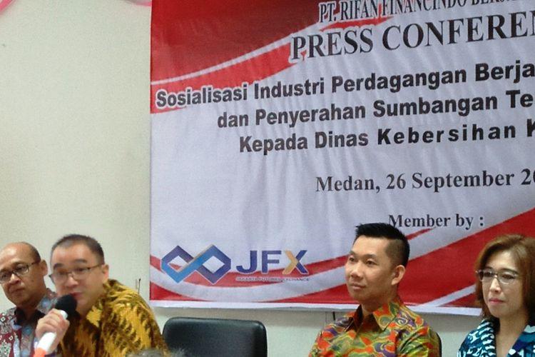 PT RFB bersama BBJ dan KBI menyelenggarakan edukasi dan sosialisasi PBK di Kota Medan, Rabu (27/9/2017)