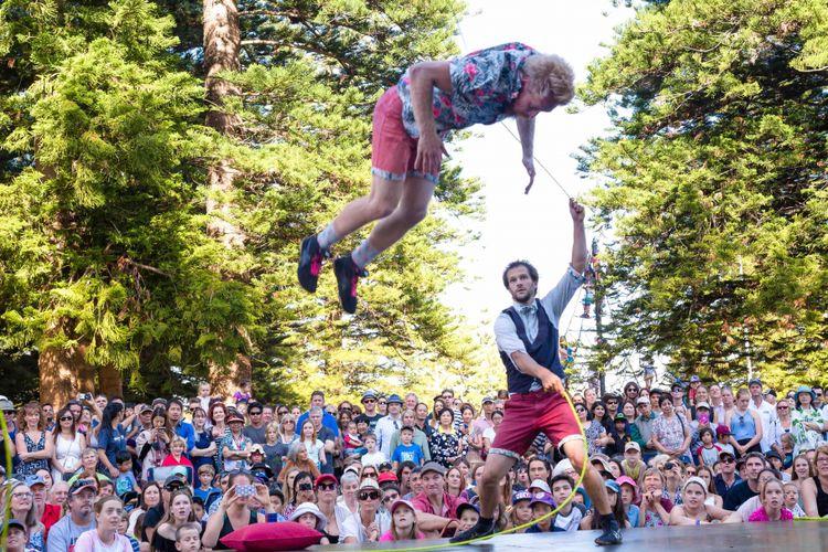 Fremantle International Street Arts Festival, salah satu festival yang digelar di Australia Barat.