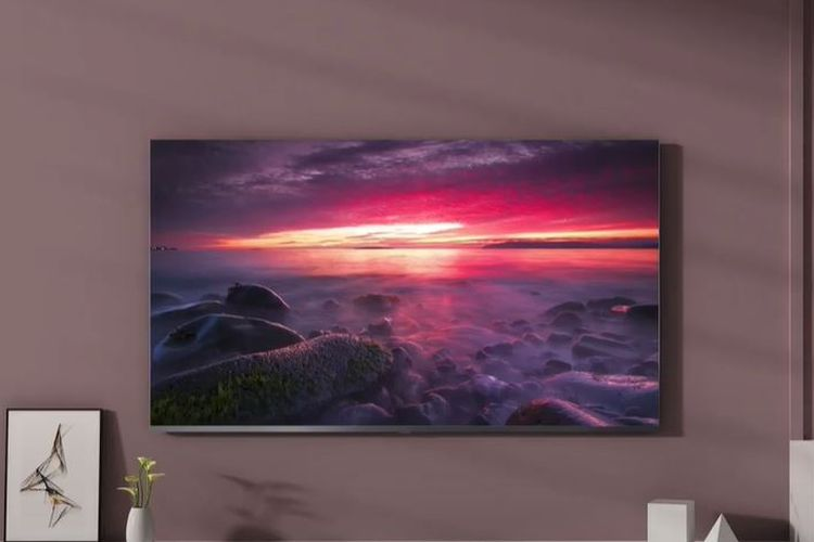 Ilustrasi Mi TV 4 Bezel-less Edition varian 55 inci.