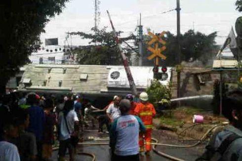 Humas KAI: Truk yang Tabrakan dengan KRL Milik Pertamina