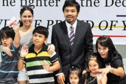 Manny Pacquiao Inginkan Delapan Anak
