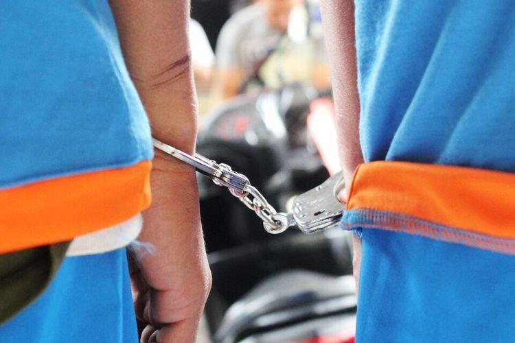 Ilustrasi penangkapan.