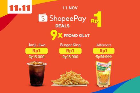 Dukung Peningkatan Daya Beli Masyarakat, ShopeePay Hadirkan Promo ShopeePay Deals Rp 1
