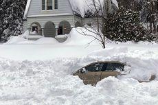 Tertimbun Salju Selama 10 Jam, Pria Ini Beruntung Bisa Diselamatkan