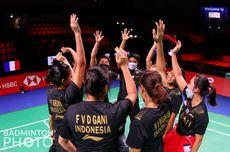Jadwal Perempat Final Uber Cup, Indonesia Vs Thailand Jumat Dini Hari