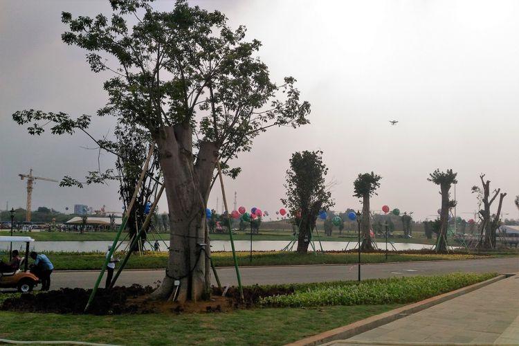 Lippo Group membangun kota baru Meikarta di Cikarang, Kabupaten Bekasi, Jawa Barat. Kawasan hunian dan area komersial itu dilengkapi dengan Central Park. Ruang terbuka hijau yang dibangun di lahan seluas 100 hektar itu bakal menjadi sarana rekreasi, olahraga, dan pendidikan.