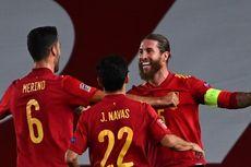 Catatan Istimewa Sergio Ramos pada Laga Belanda Vs Spanyol
