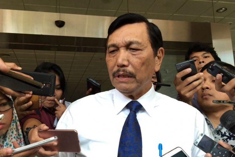 Menteri Koordinator Bidang Kemaritiman Luhut Binsar Panjaitan