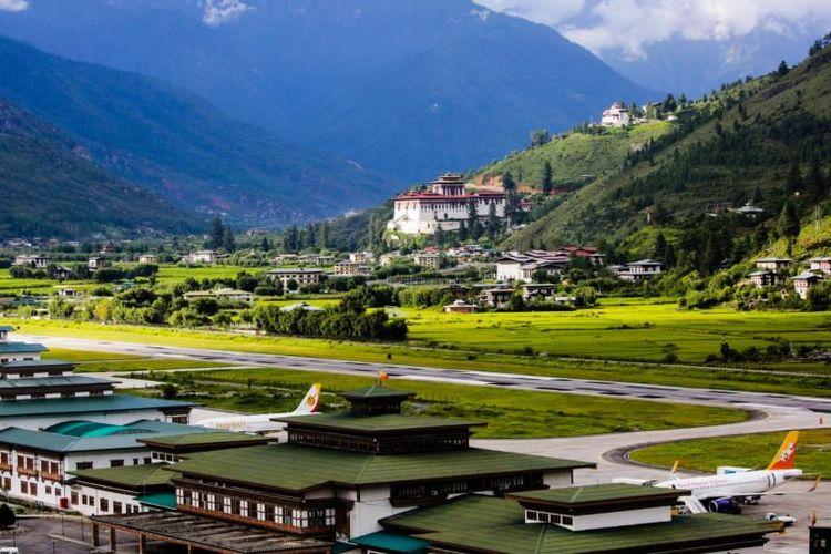 Bandara Paro di Bhutan