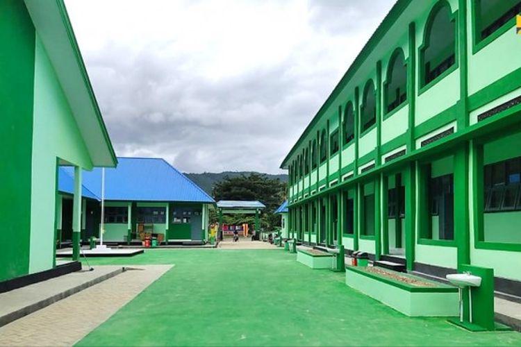Madrasah yang telah direnovasi Provinsi Sulawesi Tenggara (Sultra).