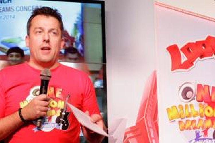 Direktur Pemasaran Telkomsel Alistair Johnston