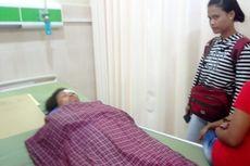 Ditanduk Kerbau, Seorang Ibu Dirawat di Rumah Sakit