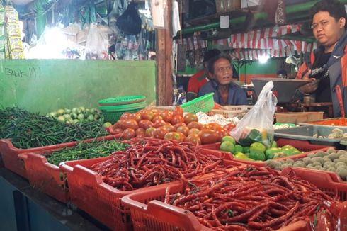 Harga Cabai Merah di Pasar Mester Jatinegara Sentuh Rp 90.000 Per Kilogram