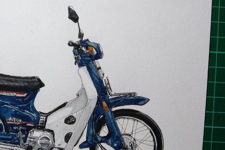 Honda Astrea Star Biru