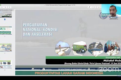 "Terbitkan Buku ""Potret Garam Nasional,"" Kementerian KP Berupaya Dorong Kemandirian Garam Nasional"