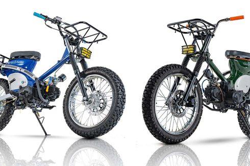 Modifikasi Honda CT100, Scrambler Untuk Piknik