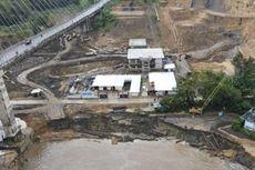 Bantaran Sungai Mahakam Longsor, 1 Orang Hilang