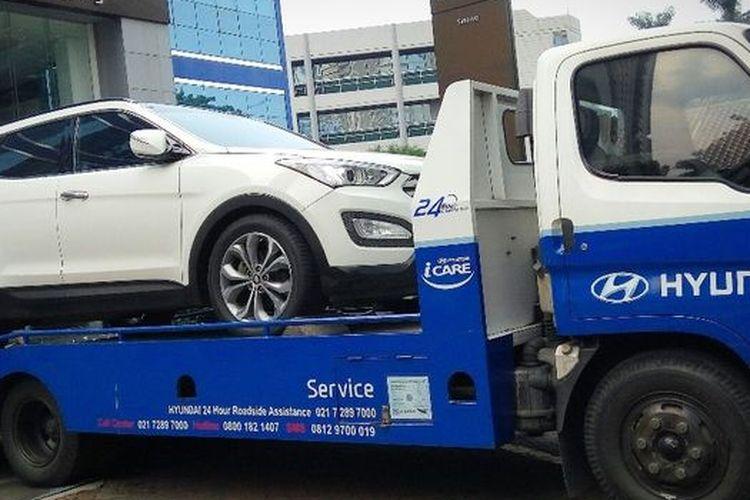 Dealer Hyundai berikan diskon servis bagi konsumen yang terkena dampak banjir
