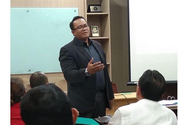 Founder & Managing Director of Eksakta Consulting Sutan R.H. Manurung (Dok. Eksakta Consulting)