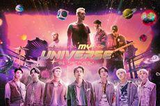 BTS dan Coldplay Puncaki Billboard Hot 100 dengan My Universe