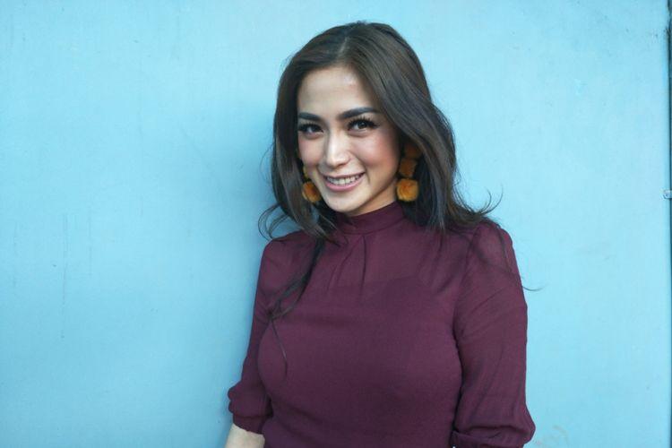 Jessica Iskandar diwawancara di Studio TransTV, Mampang, Jakarta Selatan, Rabu (31/1/2018).
