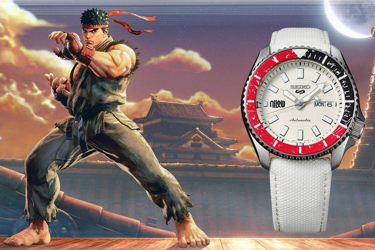 Seiko 5 Sports x Street Fighter V