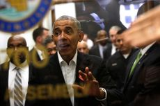 Obama Kejutkan Warga Chicago dengan Muncul di Gedung Pengadilan