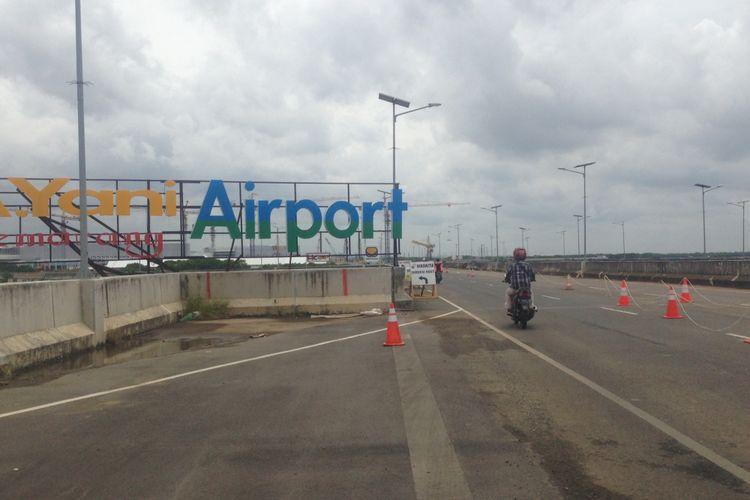 Terminal baru bandara Internasional Ahmad Yani di Kota Semarang, Jawa Tengah. Terminal itu mampu menampung 6-7 juta penumpang tiap tahun.