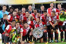 Setelah 18 Tahun, Feyenoord Kembali Raih Trofi Johan Cruyff