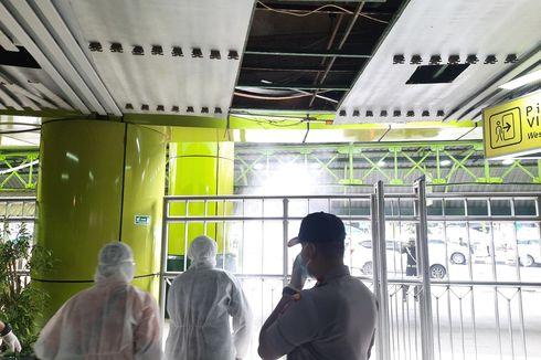 Erick Thohir hingga Kepala BNPB Pantau Penyemprotan Disinfektan di Stasiun Gambir untuk Cegah Corona