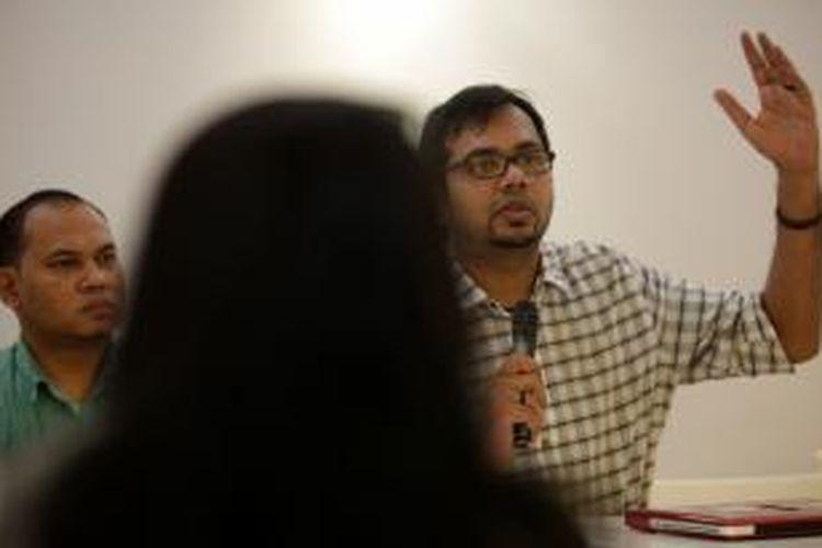 Koordinator Kontras Haris Azhar