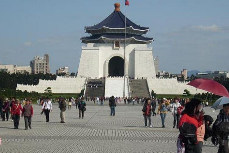 Chiang Kai-shek Memorial Hall di Taipei, Taiwan