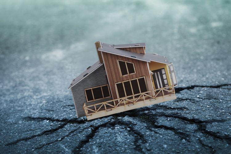 Hindari membangun rumah di tanah berporus