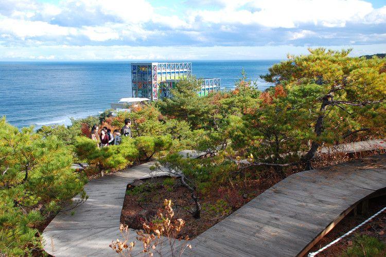 Tempat wisata di Korea Selatan - Haslla Art World di Gangwondo, Korea Selatan.