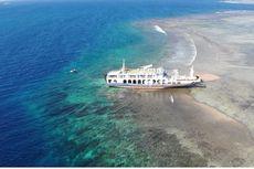 Kapal Kandas di Lombok Timur, KKP Minta Perusahaan Tanggung Jawab Pulihkan Terumbu Karang