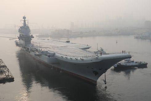 China Umumkan Kapal Induk Buatan Dalam Negeri Mereka Berlayar ke Selat Taiwan