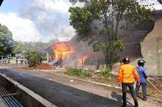 Kebakaran Gudang Kapas di Bandung, 20 Mobil Dikerahkan hingga Kerugian Capai Miliaran