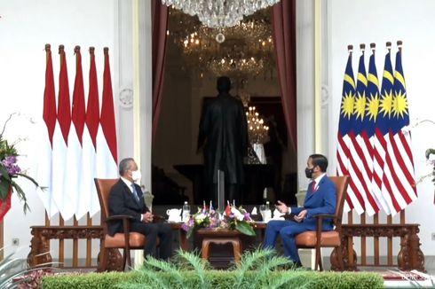 Jokowi Terima Kunjungan PM Malaysia Muhyiddin Yassin di Istana Merdeka