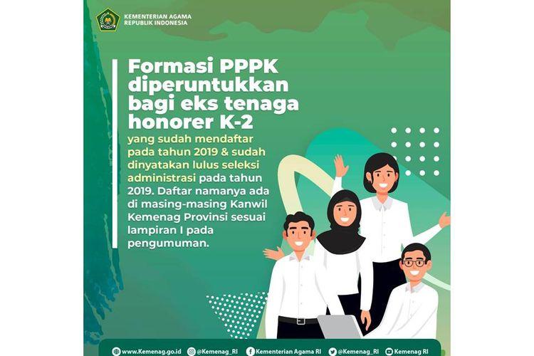Poster PPPK Kemenag 2021