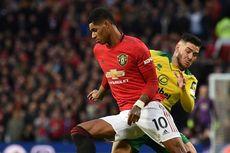 Man United Vs Norwich, Rashford Fantastis di Laga ke-200