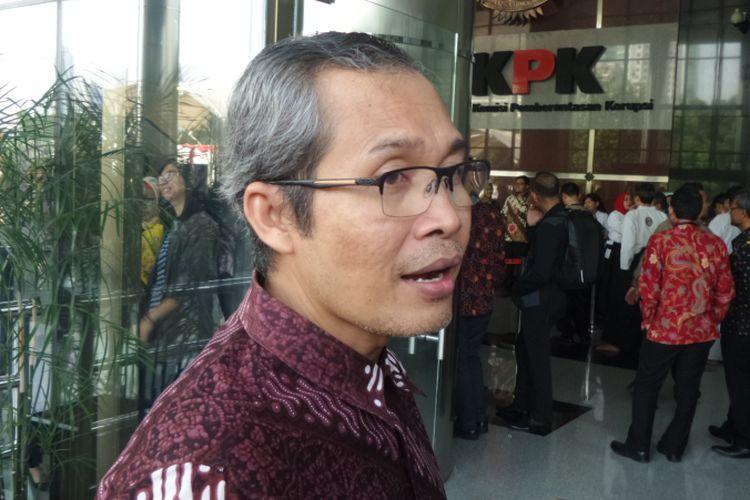 Wakil Ketua KPK Alexander Marwata, di Gedung KPK, Jakarta, Kamis (17/8/2017).
