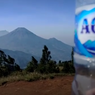 Video Viral Jajaran Gunung Mirip Logo Aqua, Ini Penjelasan Danone